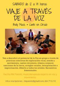 Body Music & canto en círculo